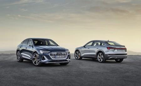 2020 Audi e-tron Sportback (Color: Plasma Blue) Front Wallpapers 450x275 (56)