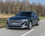 2020 Audi e-tron Sportback (Color: Plasma Blue) Front Wallpapers 150x120 (18)