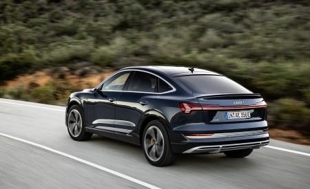 2020 Audi e-tron Sportback (Color: Plasma Blue) Rear Three-Quarter Wallpapers 450x275 (48)