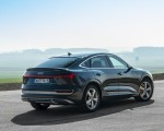 2020 Audi e-tron Sportback (Color: Plasma Blue) Rear Three-Quarter Wallpapers 150x120 (27)