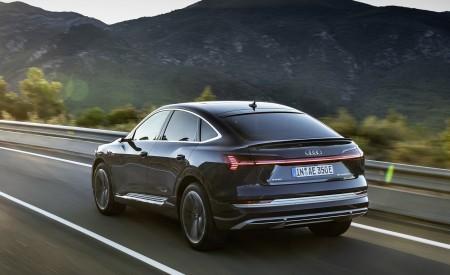 2020 Audi e-tron Sportback (Color: Plasma Blue) Rear Three-Quarter Wallpapers 450x275 (50)