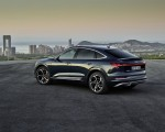 2020 Audi e-tron Sportback (Color: Plasma Blue) Rear Three-Quarter Wallpapers 150x120 (10)