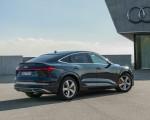 2020 Audi e-tron Sportback (Color: Plasma Blue) Rear Three-Quarter Wallpapers 150x120 (28)