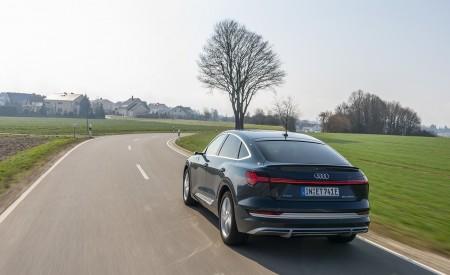2020 Audi e-tron Sportback (Color: Plasma Blue) Rear Wallpapers 450x275 (20)