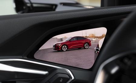 2020 Audi e-tron Sportback Digital Rear View Mirror Wallpapers 450x275 (32)