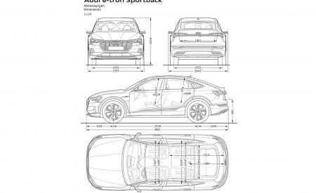 2020 Audi e-tron Sportback Dimensions Wallpapers 450x275 (137)
