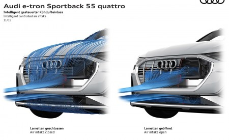 2020 Audi e-tron Sportback Intelligent controlled air intake Wallpapers 450x275 (121)