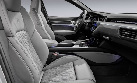2020 Audi e-tron Sportback Interior Front Seats Wallpapers 450x275 (89)