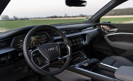 2020 Audi e-tron Sportback Interior Wallpapers 450x275 (14)