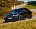 2020 BMW M340i Sedan (Color: Tanzanite Blue Metallic) Front Three-Quarter Wallpapers 150x120