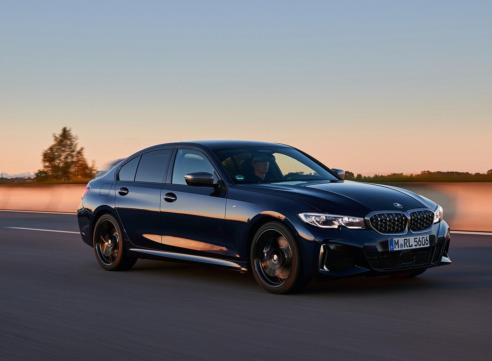 2020 BMW M340i Sedan (Color: Tanzanite Blue Metallic) Front Three-Quarter Wallpapers (2)