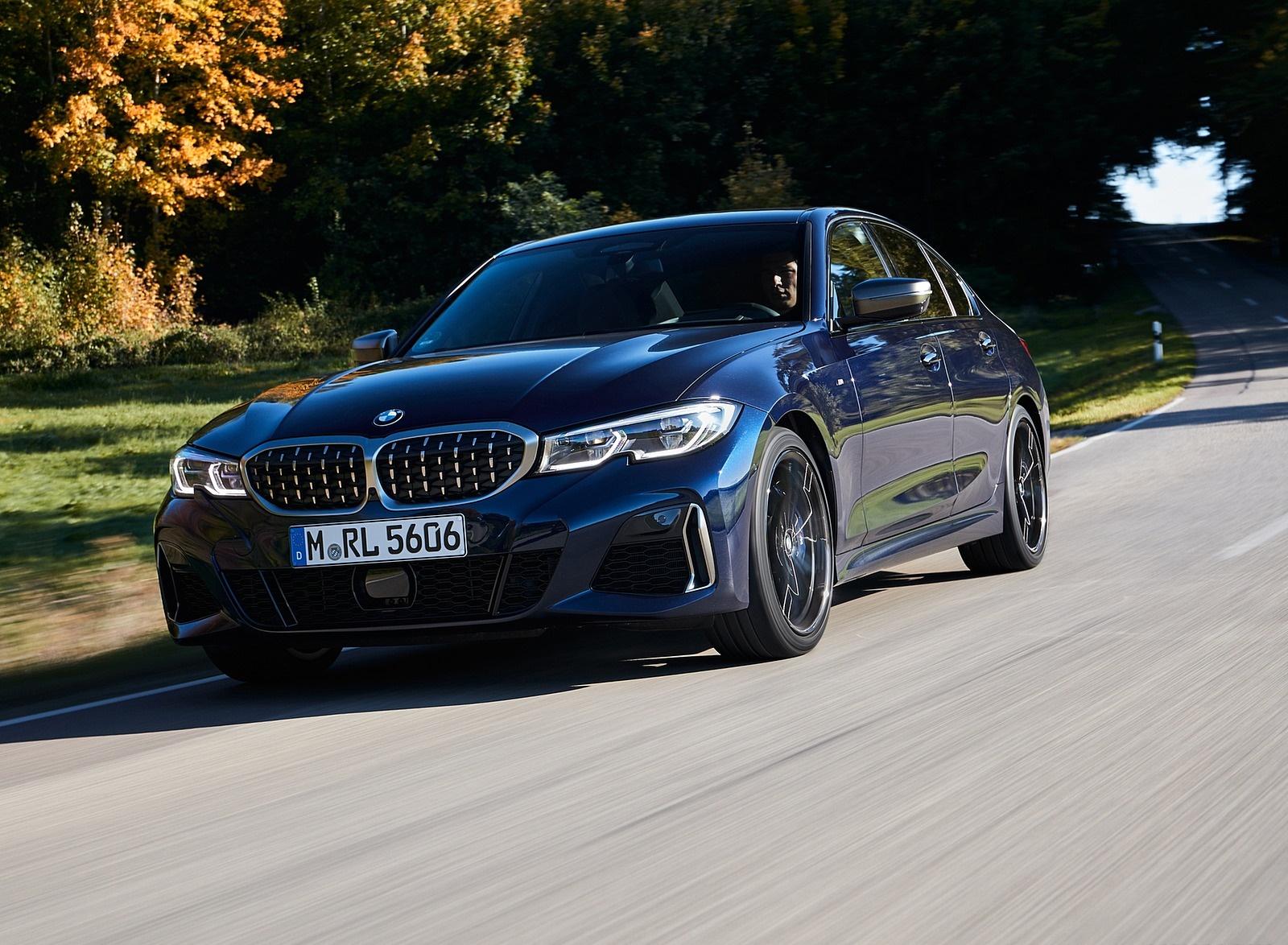 2020 BMW M340i Sedan (Color: Tanzanite Blue Metallic) Front Three-Quarter Wallpapers #14 of 74