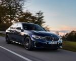 2020 BMW M340i Sedan (Color: Tanzanite Blue Metallic) Front Three-Quarter Wallpapers 150x120 (3)