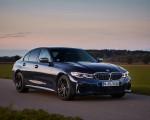2020 BMW M340i Sedan (Color: Tanzanite Blue Metallic) Front Three-Quarter Wallpapers 150x120