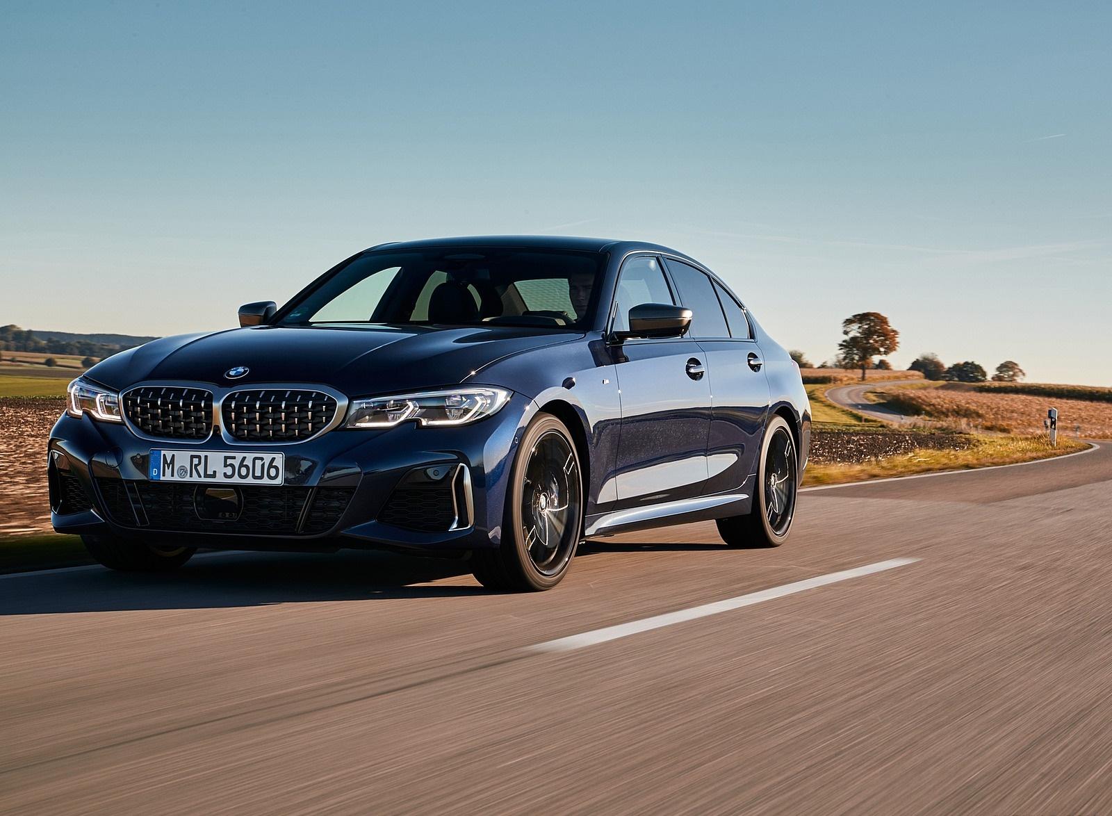 2020 BMW M340i Sedan (Color: Tanzanite Blue Metallic) Front Three-Quarter Wallpapers (5)