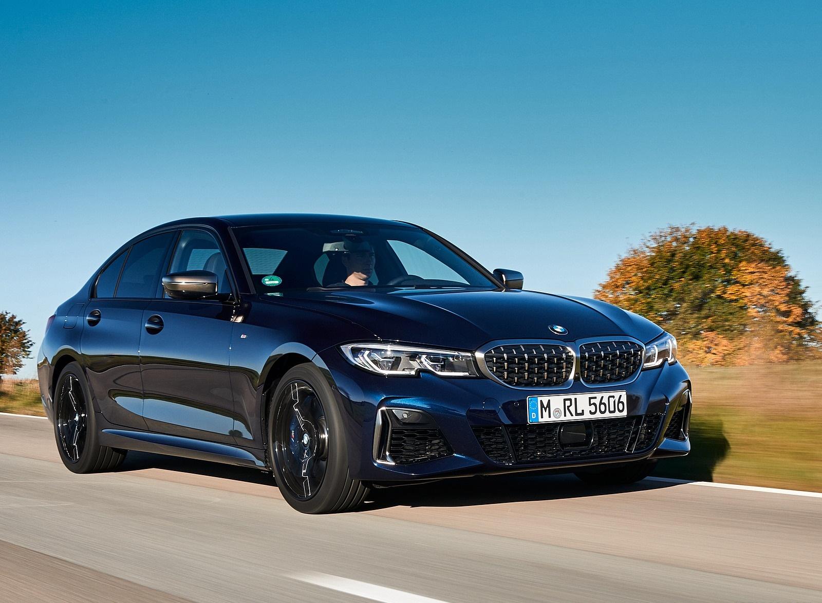 2020 BMW M340i Sedan (Color: Tanzanite Blue Metallic) Front Three-Quarter Wallpapers (6)