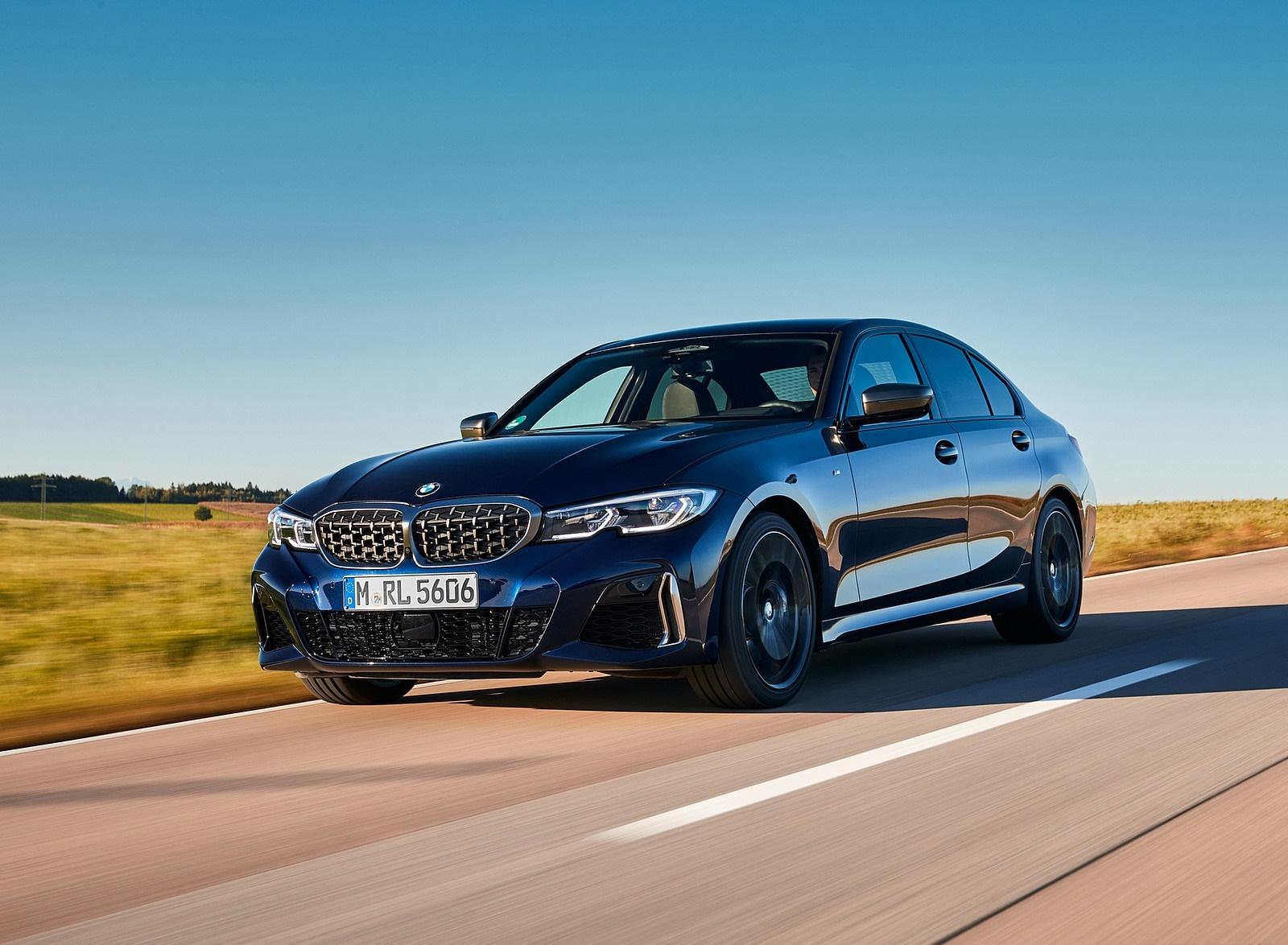 2020 BMW M340i Sedan (Color: Tanzanite Blue Metallic) Front Three-Quarter Wallpapers (7)