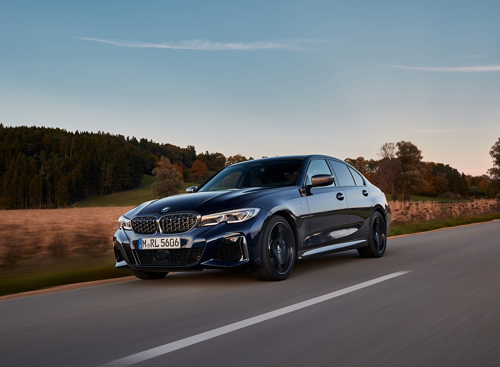 2020 BMW M340i Sedan (Color: Tanzanite Blue Metallic) Front Three-Quarter Wallpapers #16 of 74
