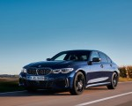 2020 BMW M340i Sedan (Color: Tanzanite Blue Metallic) Front Three-Quarter Wallpapers 150x120 (8)