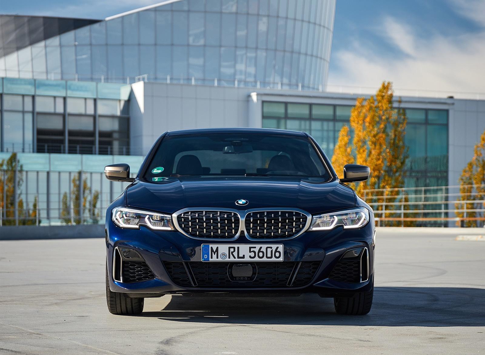 2020 BMW M340i Sedan (Color: Tanzanite Blue Metallic) Front Wallpapers #48 of 74