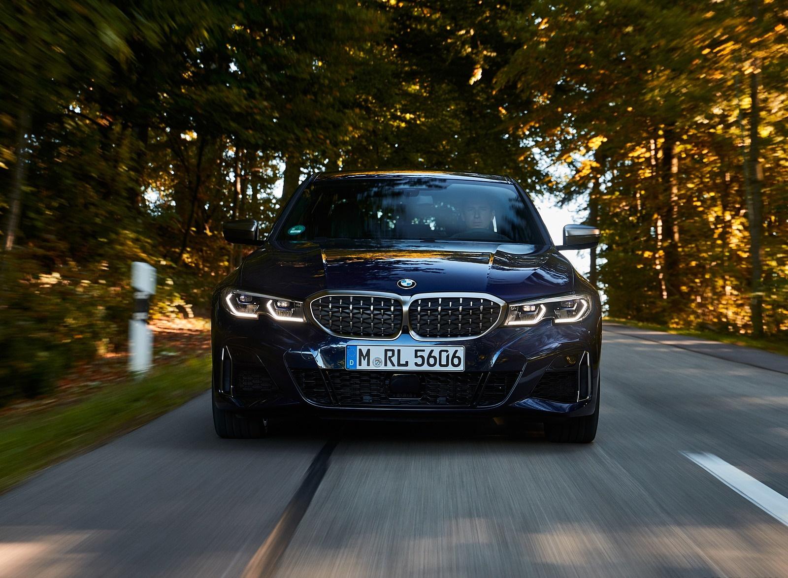 2020 BMW M340i Sedan (Color: Tanzanite Blue Metallic) Front Wallpapers #18 of 74