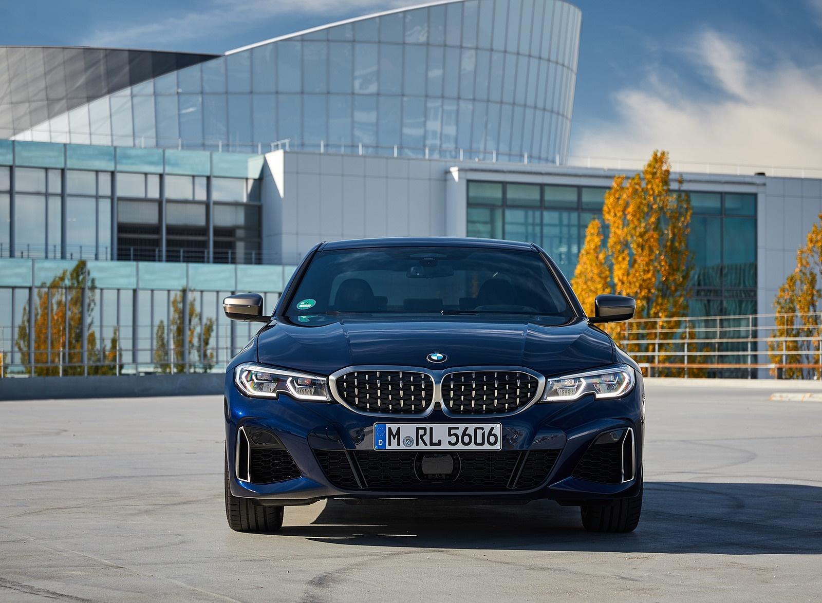 2020 BMW M340i Sedan (Color: Tanzanite Blue Metallic) Front Wallpapers #47 of 74