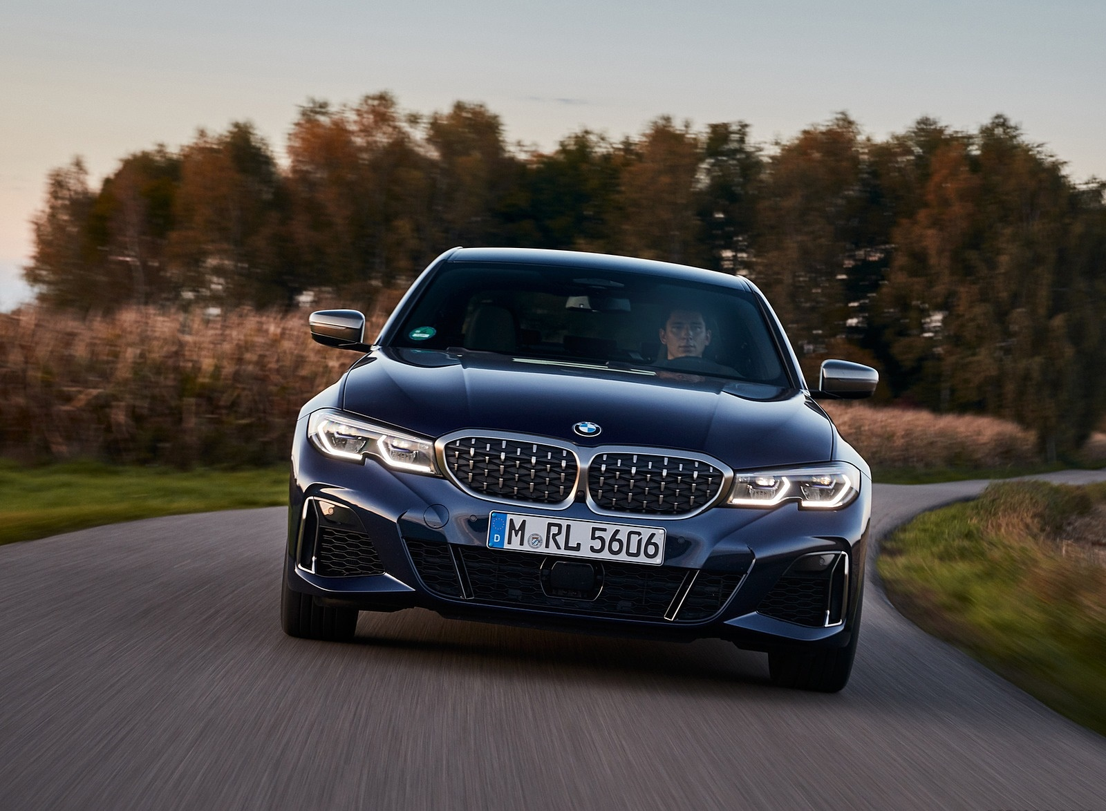 2020 BMW M340i Sedan (Color: Tanzanite Blue Metallic) Front Wallpapers (9)