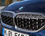 2020 BMW M340i Sedan (Color: Tanzanite Blue Metallic) Grill Wallpapers 150x120