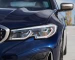 2020 BMW M340i Sedan (Color: Tanzanite Blue Metallic) Headlight Wallpapers 150x120