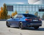 2020 BMW M340i Sedan (Color: Tanzanite Blue Metallic) Rear Three-Quarter Wallpapers 150x120 (43)