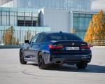 2020 BMW M340i Sedan (Color: Tanzanite Blue Metallic) Rear Three-Quarter Wallpapers 150x120