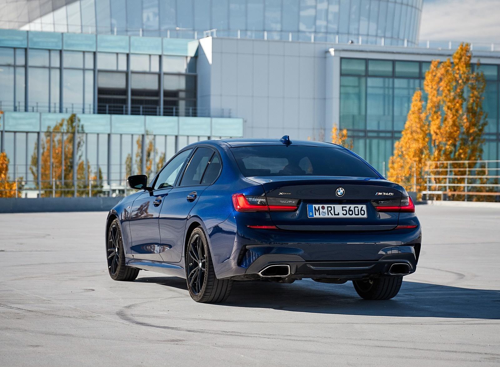 2020 BMW M340i Sedan (Color: Tanzanite Blue Metallic) Rear Three-Quarter Wallpapers #45 of 74