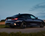 2020 BMW M340i Sedan (Color: Tanzanite Blue Metallic) Rear Three-Quarter Wallpapers 150x120