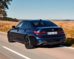 2020 BMW M340i Sedan (Color: Tanzanite Blue Metallic) Rear Three-Quarter Wallpapers 150x120 (11)