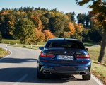 2020 BMW M340i Sedan (Color: Tanzanite Blue Metallic) Rear Wallpapers 150x120