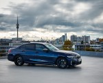 2020 BMW M340i Sedan (Color: Tanzanite Blue Metallic) Side Wallpapers 150x120