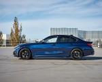 2020 BMW M340i Sedan (Color: Tanzanite Blue Metallic) Side Wallpapers 150x120