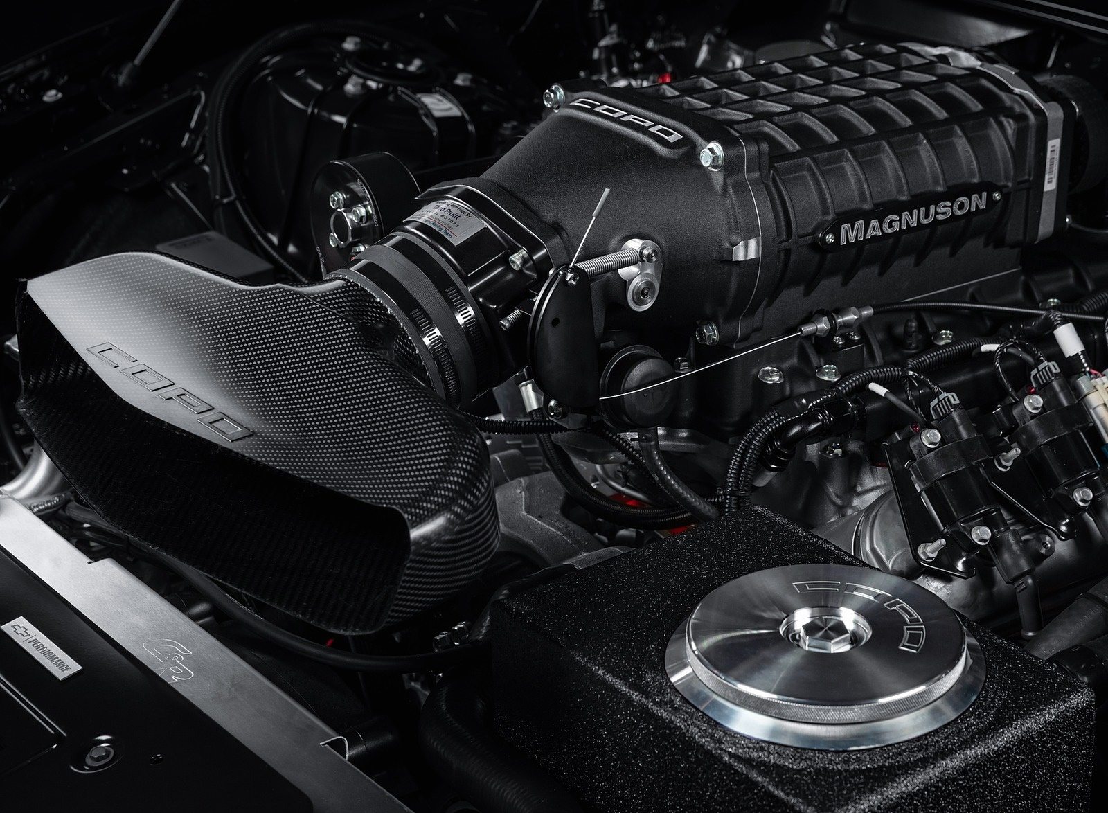 2020 Chevrolet COPO Camaro John Force Edition Engine Wallpapers (4)