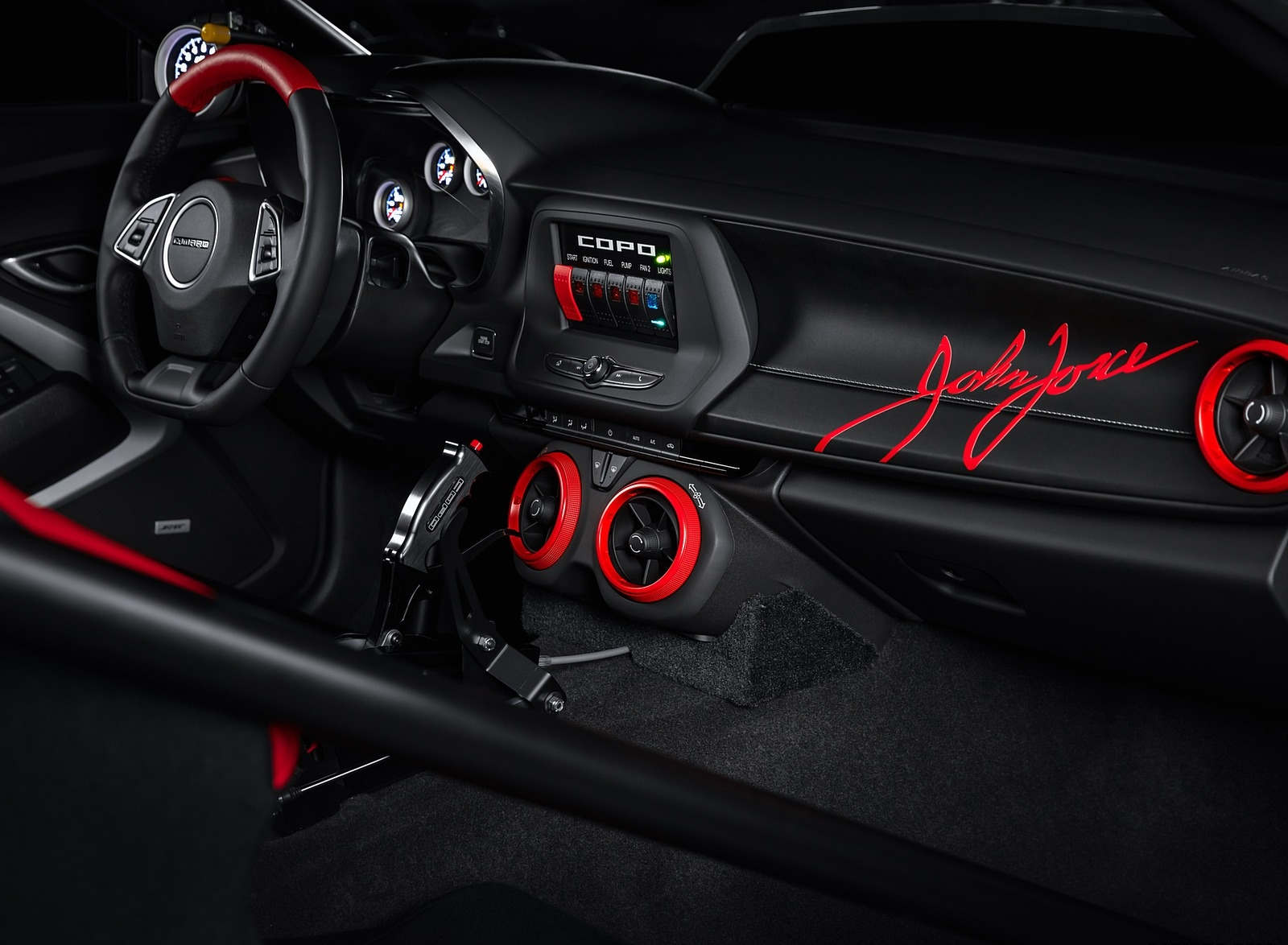 2020 Chevrolet COPO Camaro John Force Edition Interior Wallpapers (5)