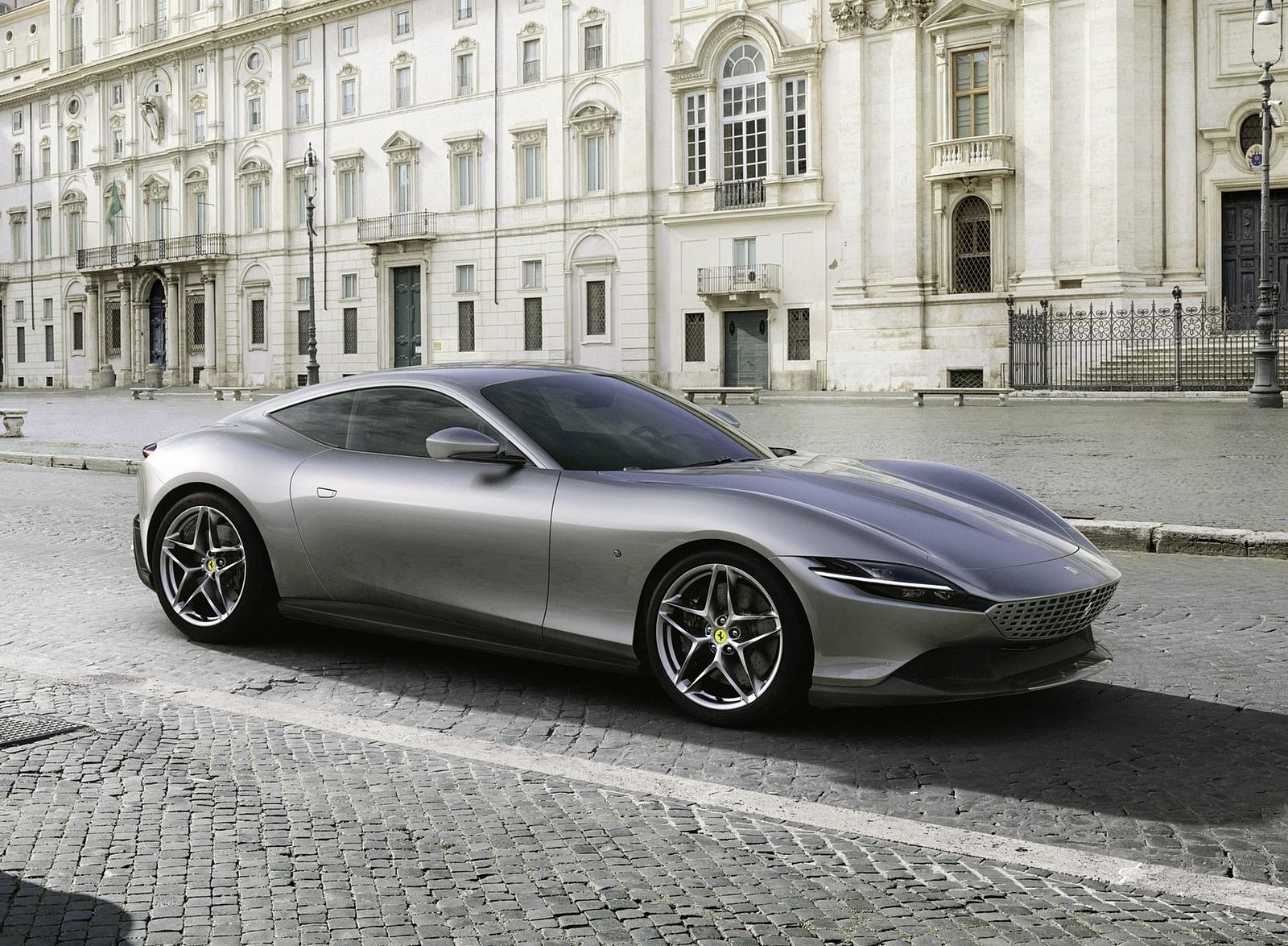 2020 Ferrari Roma Front Three-Quarter Wallpapers (1)