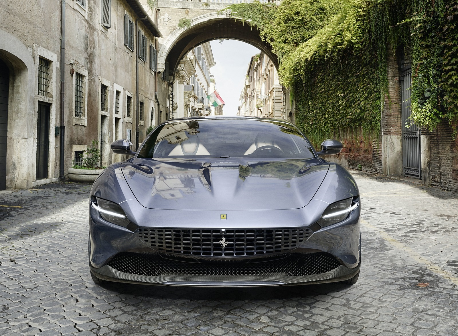 2020 Ferrari Roma Front Wallpapers (5)