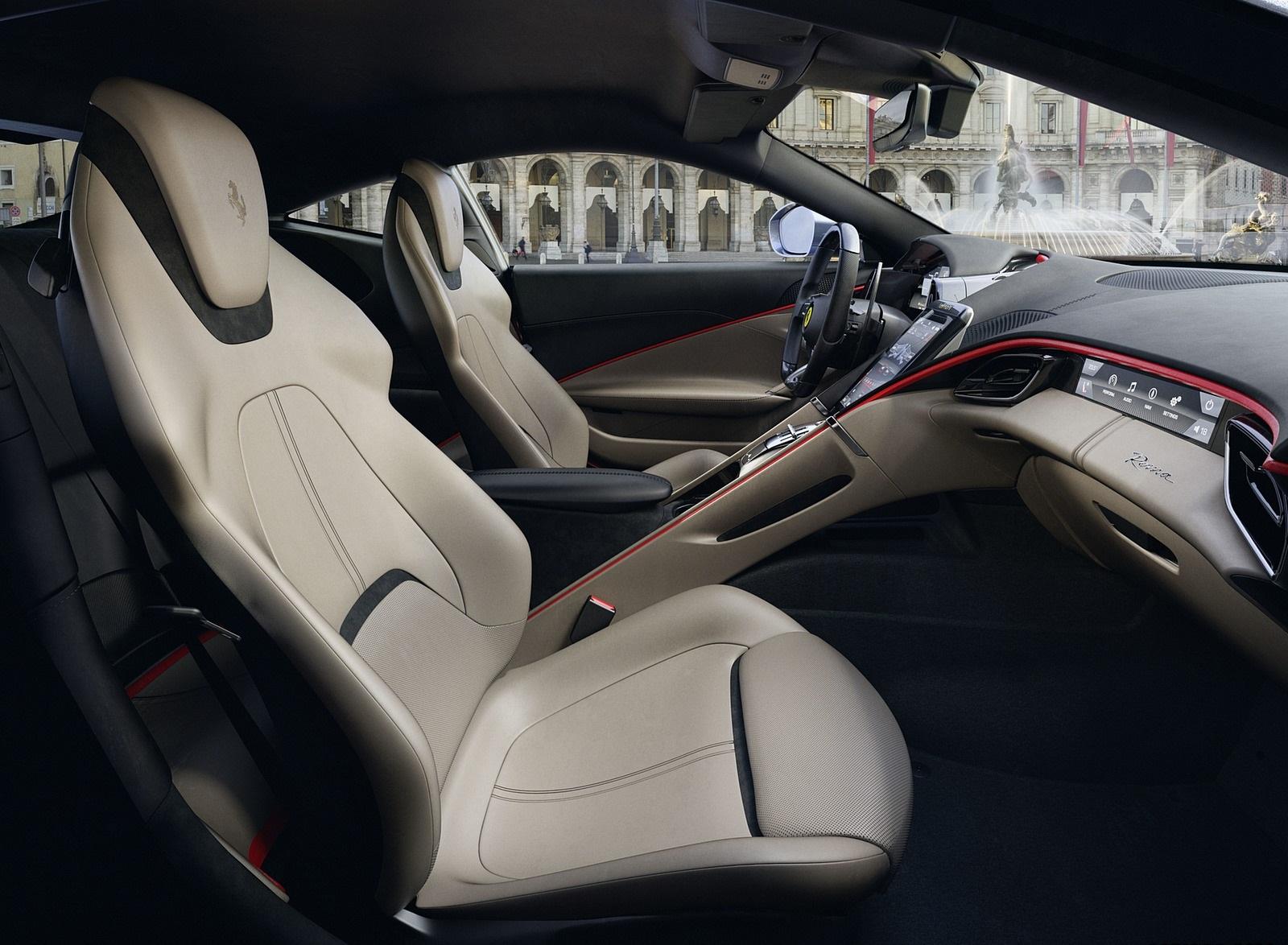 2020 Ferrari Roma Interior Seats Wallpapers (7)