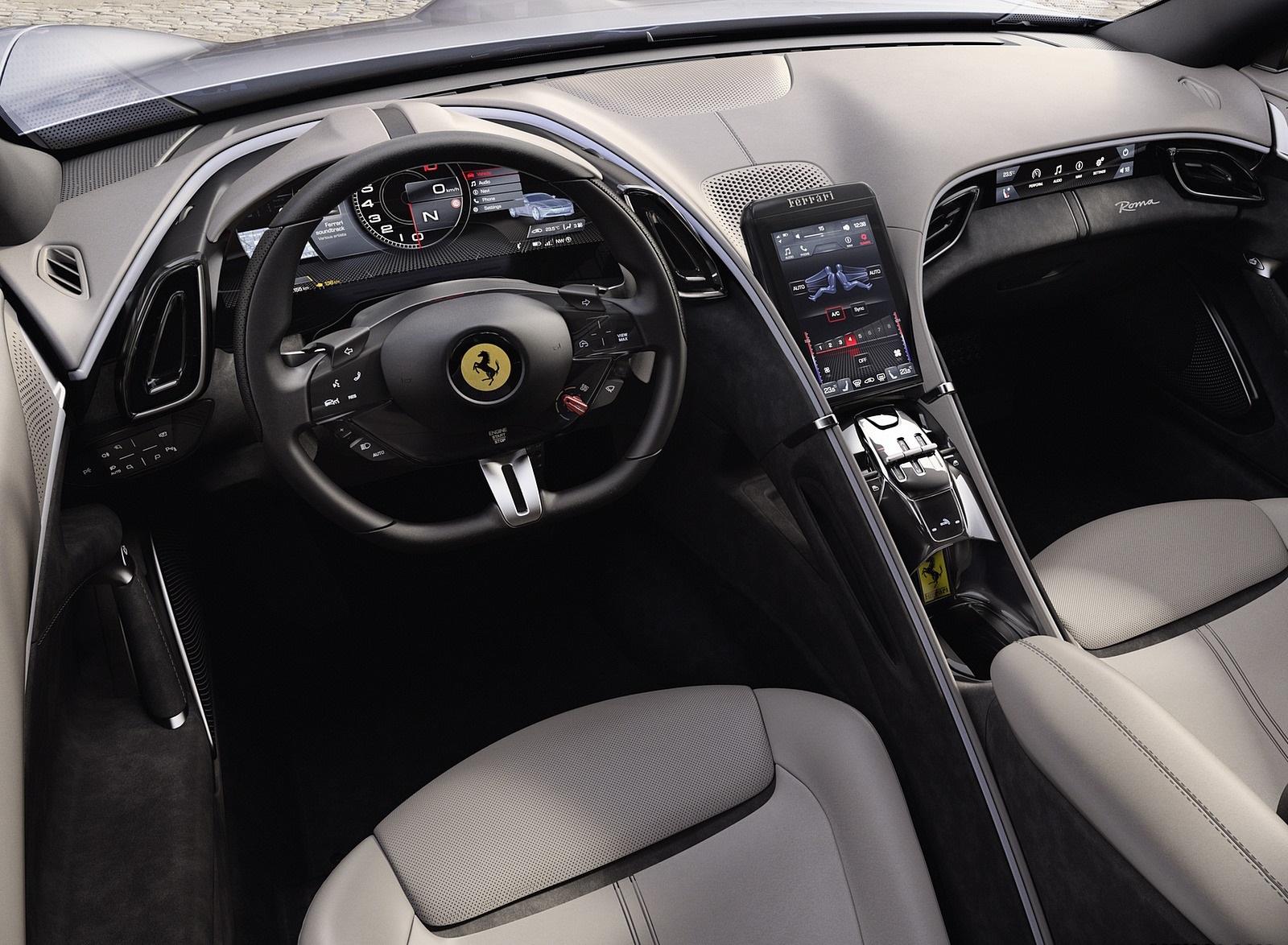 2020 Ferrari Roma Interior Wallpapers (9)