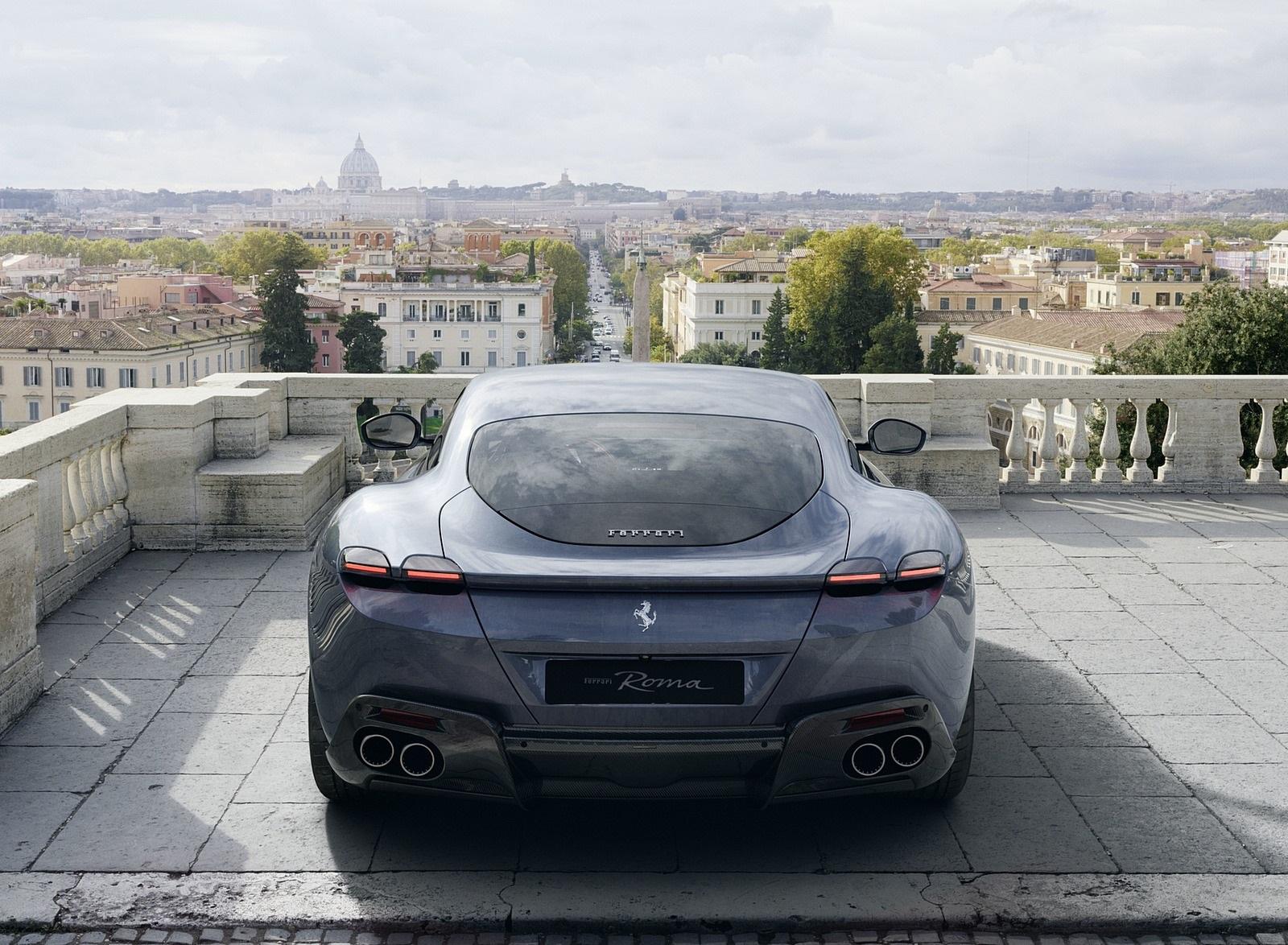 2020 Ferrari Roma Rear Wallpapers (6)