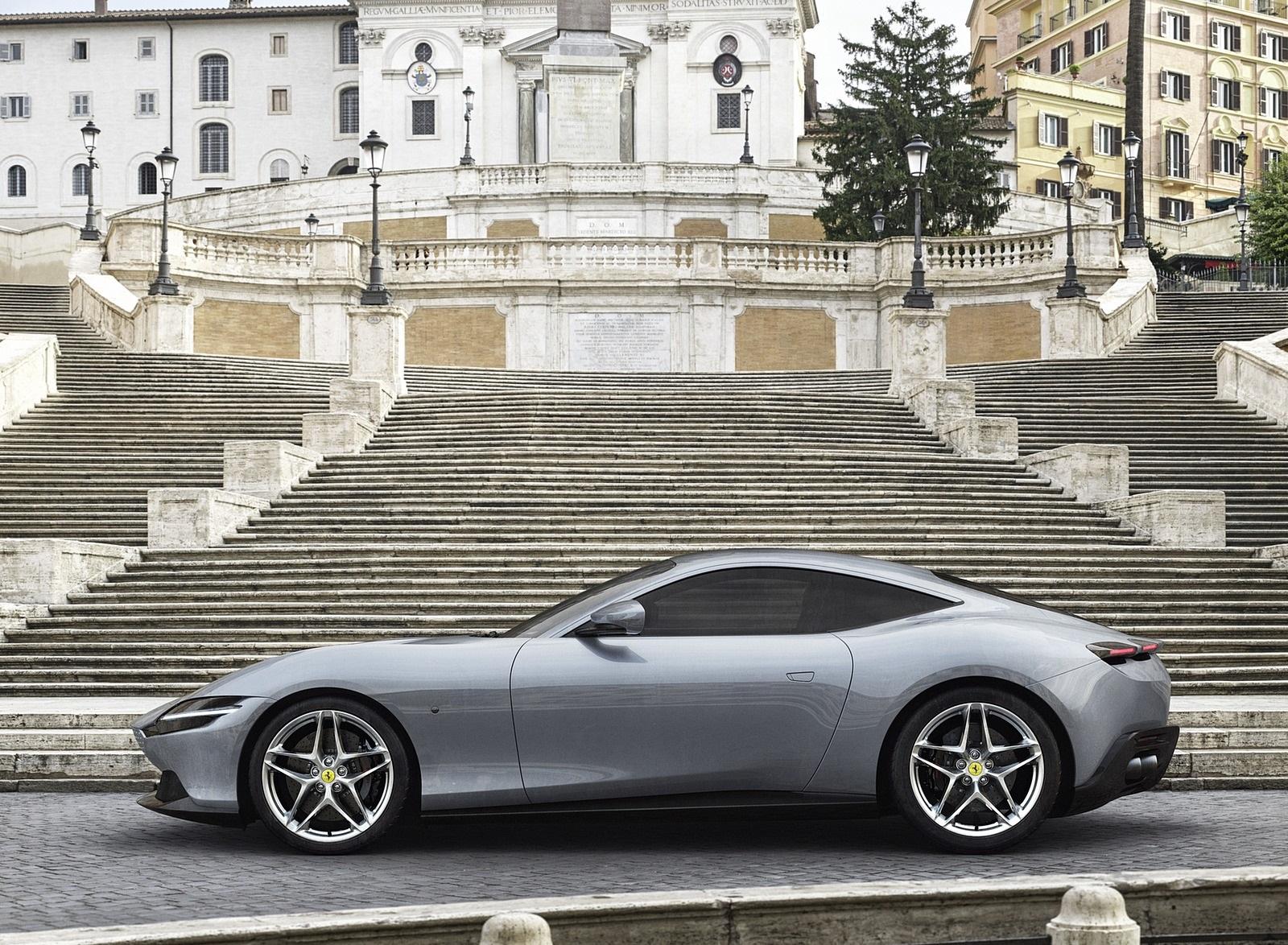 2020 Ferrari Roma Side Wallpapers (3)