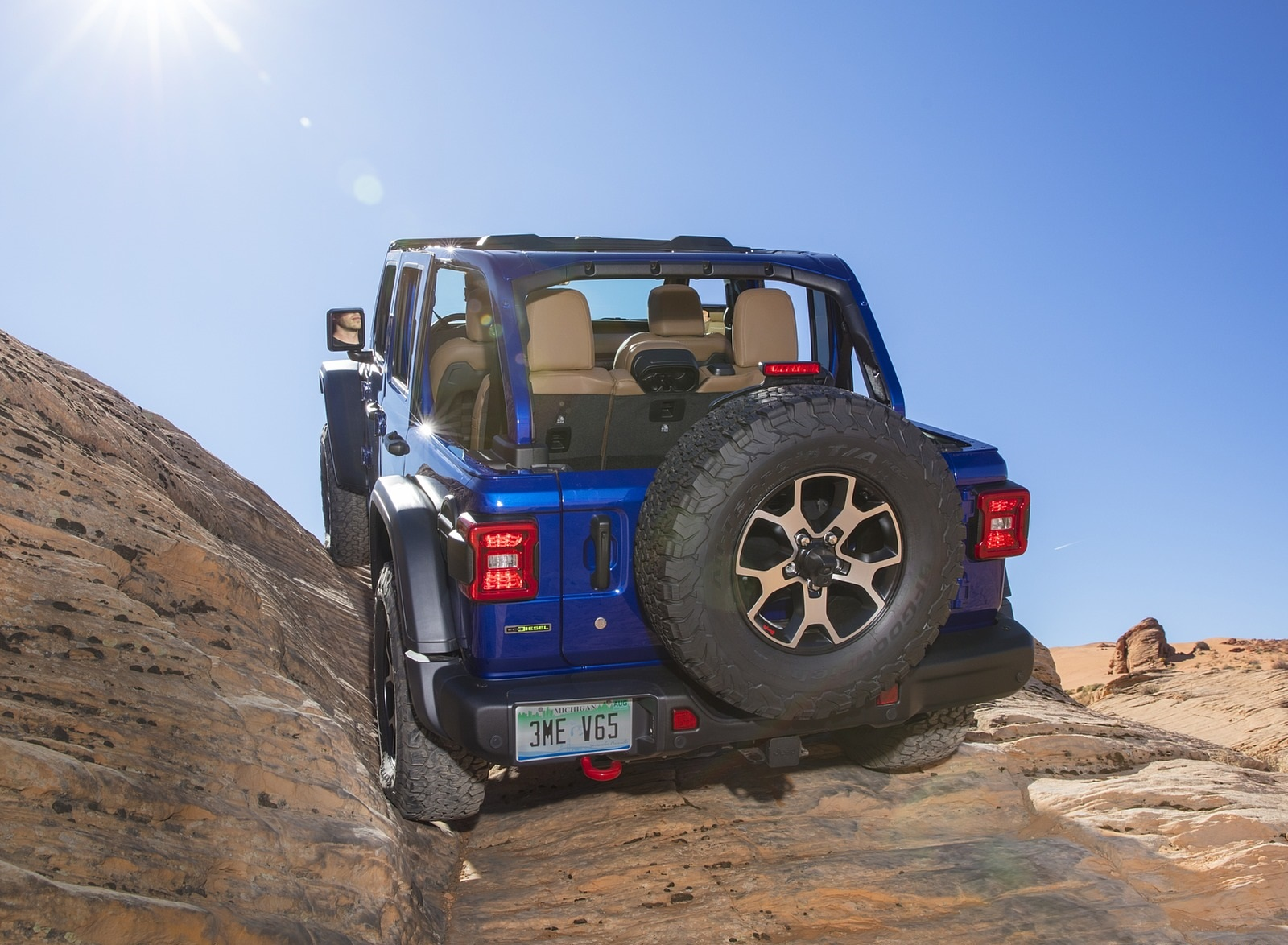 2020 Jeep Wrangler Rubicon EcoDiesel Off-Road Wallpapers (6)
