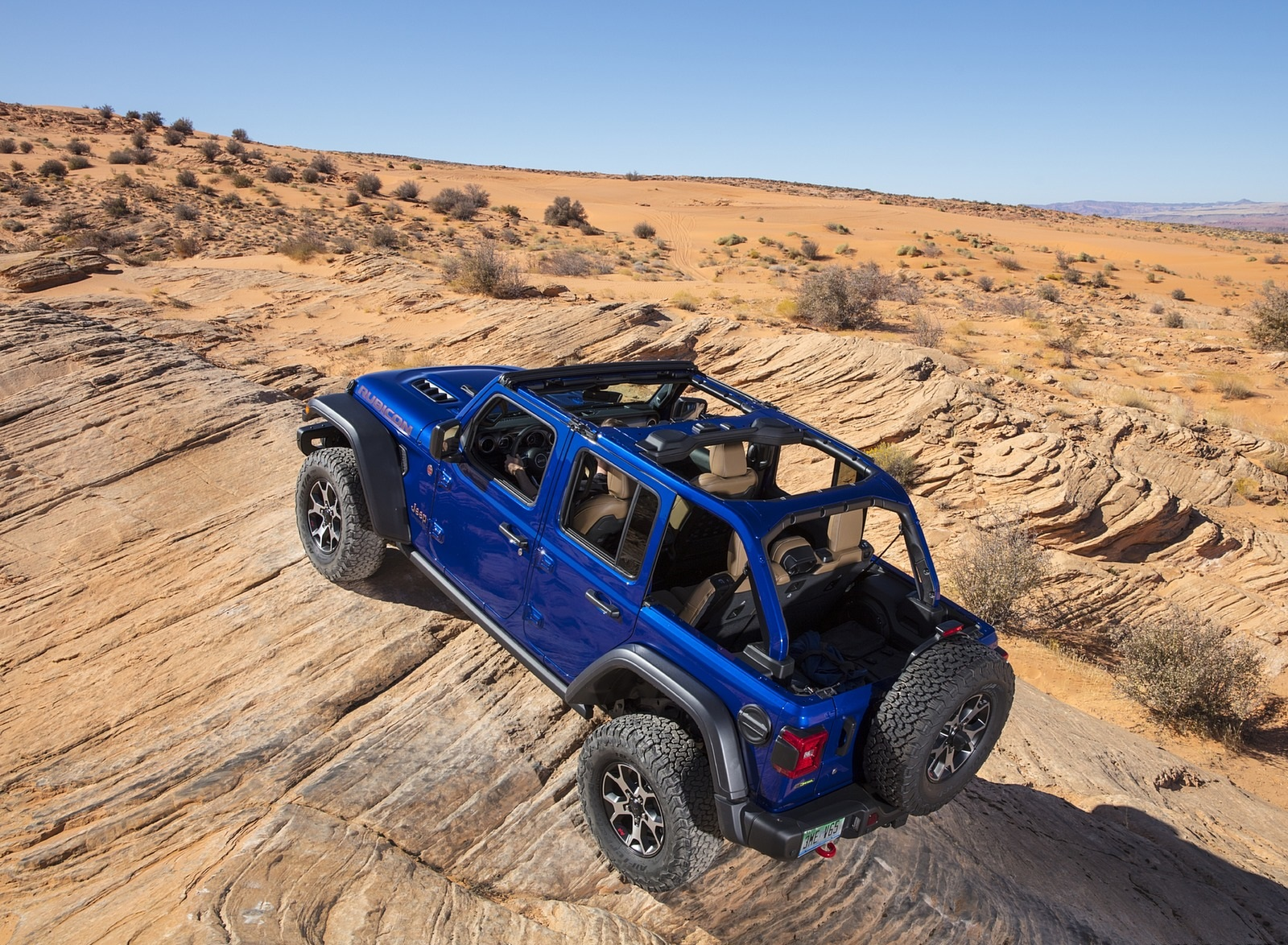 2020 Jeep Wrangler Rubicon EcoDiesel Off-Road Wallpapers (7)