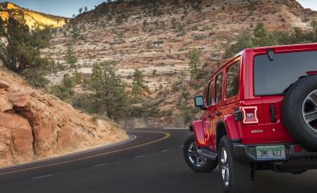 2020 Jeep Wrangler Sahara EcoDiesel Detail Wallpapers 450x275 (121)