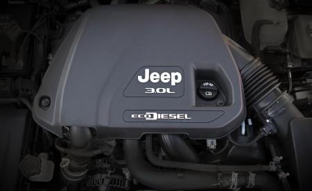 2020 Jeep Wrangler Sahara EcoDiesel Engine Wallpapers 450x275 (122)