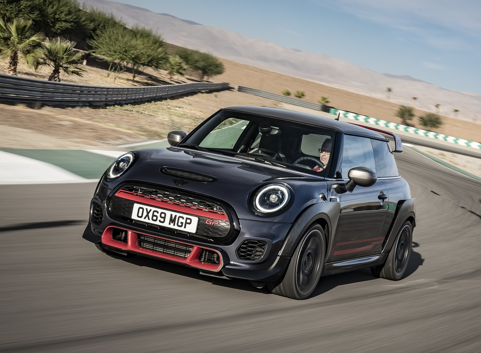 2020 MINI John Cooper Works GP Front Three-Quarter Wallpapers (1)